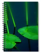 Zen Photography Green  Spiral Notebook