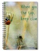 Zen Proverb Spiral Notebook