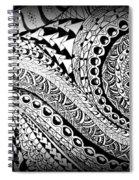 Zen Tangle 1 Spiral Notebook