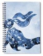 Zero-blue Spiral Notebook