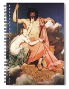 Zeus And Thetis  Spiral Notebook