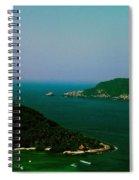 Zihuatanejo Harbor Spiral Notebook