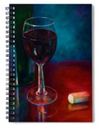 Zinfandel Spiral Notebook