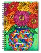 Zinnia Fiesta Spiral Notebook