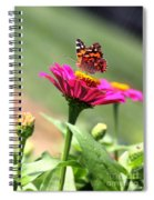 Zinnia Visitor Spiral Notebook