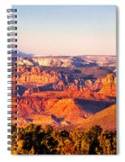 Zion At Sunset Spiral Notebook