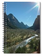 Zion Canyon Spiral Notebook