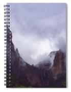 Zion Fog Spiral Notebook