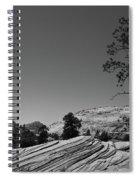 Zion Park Geology Texture Spiral Notebook