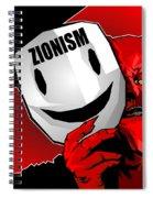 Zionism Devil Spiral Notebook