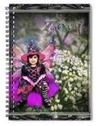 Zoey Spiral Notebook