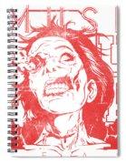 Zombie Music Spiral Notebook