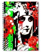 Zombie Queen Roses Spiral Notebook