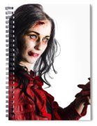 Zombie Shaking Severed Hand Spiral Notebook