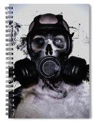 Zombie Warrior Spiral Notebook