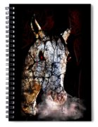 Zombified Horse Spiral Notebook