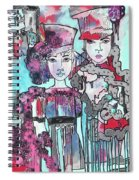 Zoni.girl Haute Couture Spiral Notebook