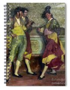 Zuloaga: Bullfighters Spiral Notebook
