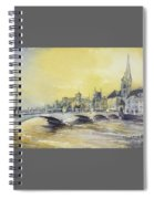 Zurich Sunset- Switzerland Spiral Notebook