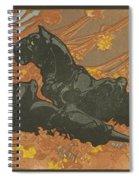 Zwarte Panters Spiral Notebook