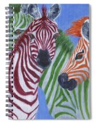Zzzebras Spiral Notebook