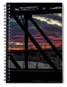 008 - Trestle Sunset Spiral Notebook
