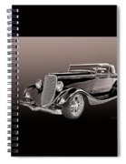 1934 Ford Roadster Spiral Notebook