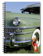 1947 Chrysler Town And Country Woody Spiral Notebook