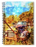 1950 Gmc Truck Spiral Notebook