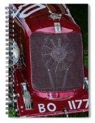 A 1933 Maserati 8c 3000 Biposto Spiral Notebook