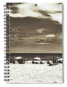 A Day On The Jersey Shore Spiral Notebook