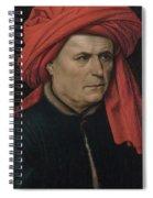 A Man  Spiral Notebook