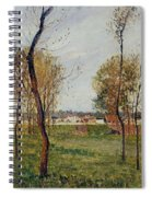 A Meadow In Eragny, 1889 Spiral Notebook