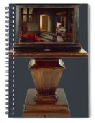 A Peepshow With Views Of The Interior Of A Dutch House  Spiral Notebook