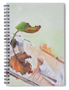 A Touch Of Fall Spiral Notebook