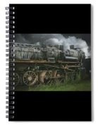 Abandoned Steam Locomotive  Spiral Notebook