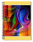Abstract #35 Spiral Notebook