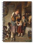 Adolf Eberle  Fresh Milk Spiral Notebook