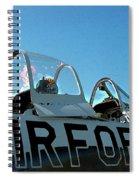 Air Force  Spiral Notebook