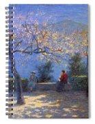 Angelo Morbelli 1853-1919, Spring In Colma - 1906 Spiral Notebook