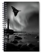 Auroral Splendour For The Vulcan Spiral Notebook