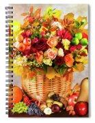 Autum Harvest Spiral Notebook