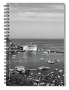 Avalon Harbor - Catalina Island, California Spiral Notebook