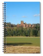Ayton Castle From South, Berwickshire Spiral Notebook