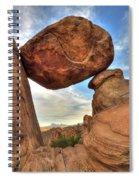 Balanced Rock Spiral Notebook