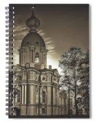 Beautiful Smolny Monastery Spiral Notebook