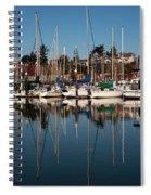 Bellingham Bay Marina  Spiral Notebook