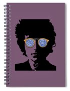 Blowin In The Wind Bob Dylan Spiral Notebook