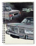 Bmw 2000 Spiral Notebook