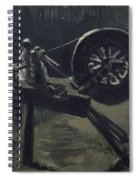 Bobbin Winder  Spiral Notebook